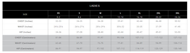 Volleyball sizes
